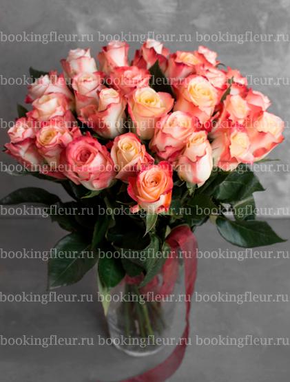 Монобукет из 25 роз Cabaret