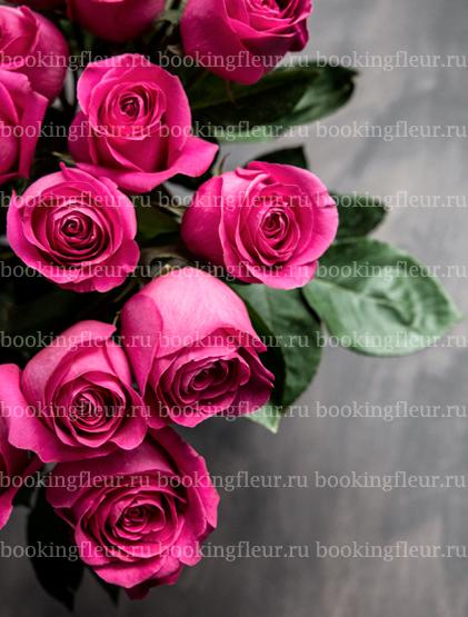 Монобукет из 25 роз Pink Floyd