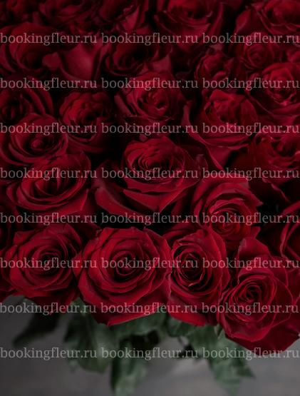 Монобукет из 51 розы Freedom