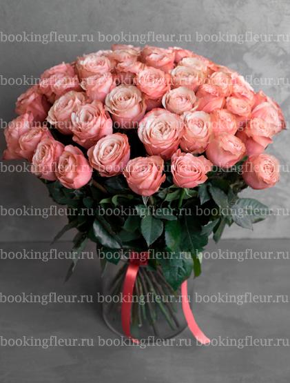 Монобукет из 51 розы Kahala