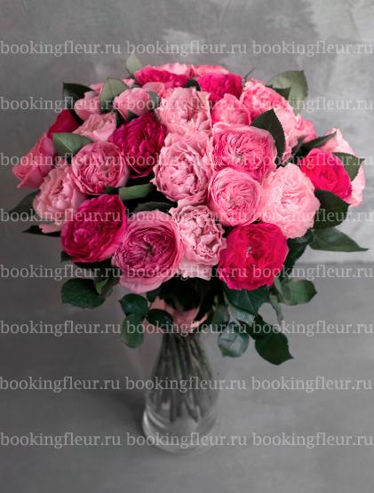 """Монобукет из 35 роз """"Шарлиз"""""""